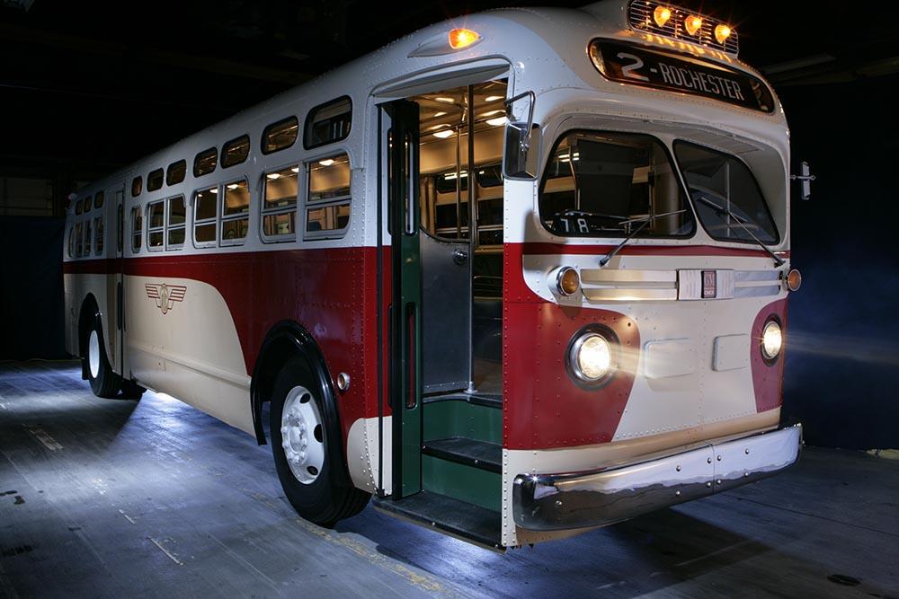 RTS Vintage 1956 GM Transit Bus