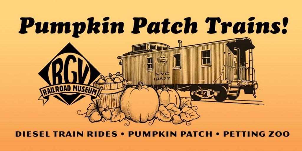Pumpkin Patch Trains at R&GV Railroad Museum