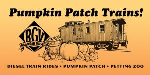 Pumpkin Patch Trains at R&GV Railroad Museum