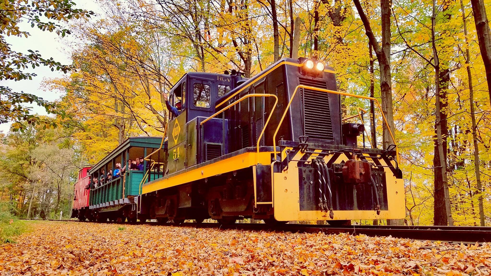 Fall Train Rides