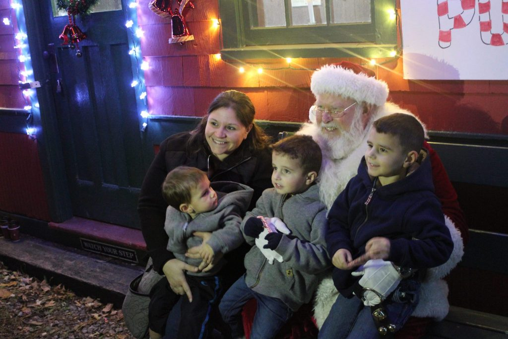 Rochester Santa Train