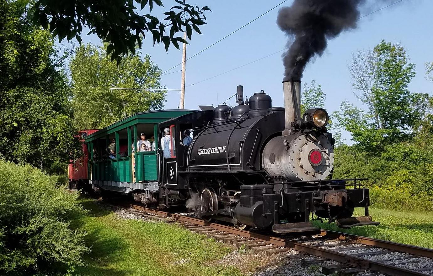 Viscose 6 Steam Train