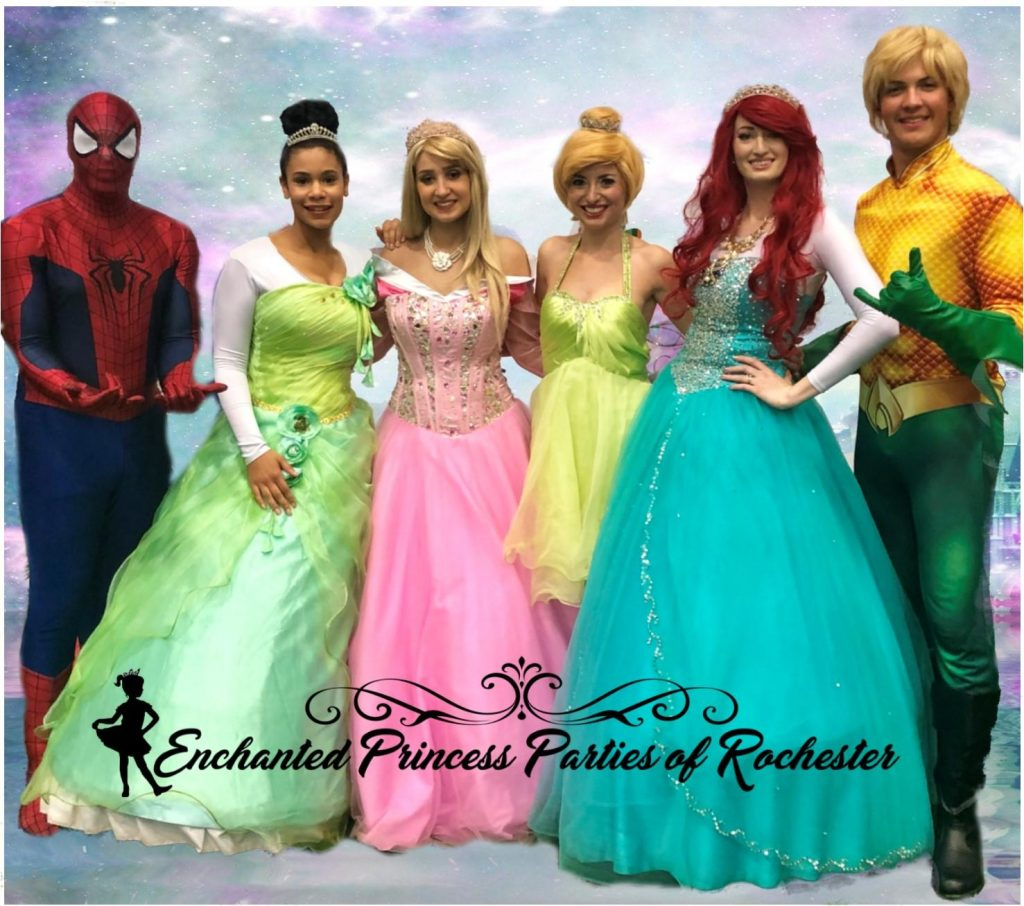 Princesses and Superheroes