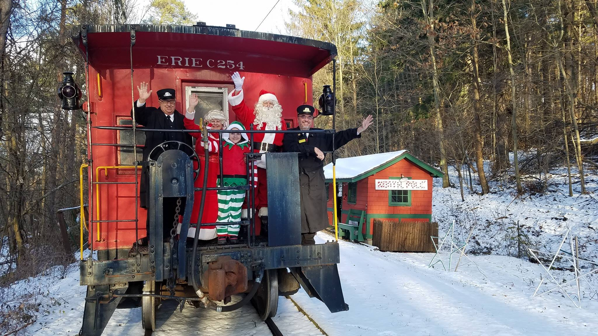 Real Santa Trains