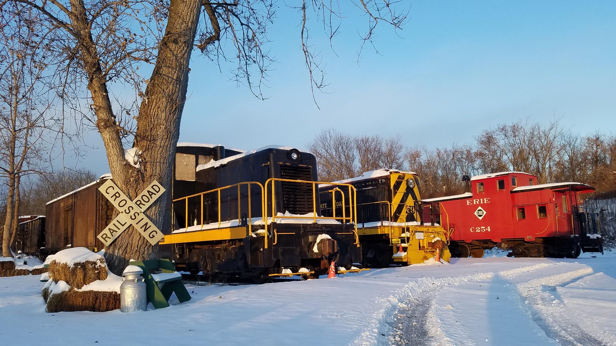 RGV Upper Yard in Winter
