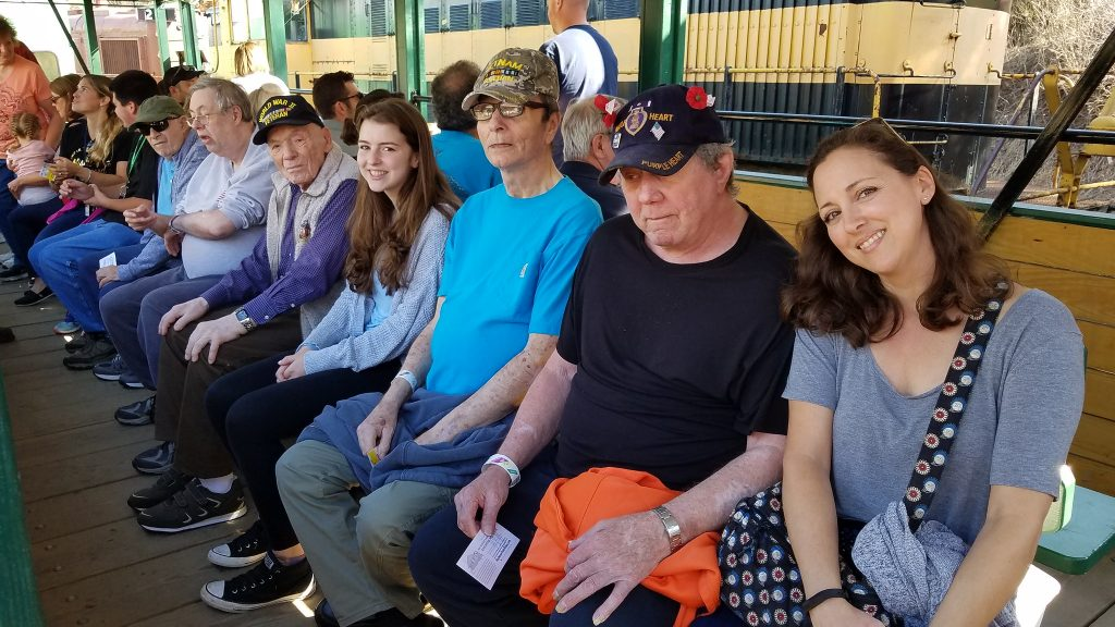 Veterans Train Rides